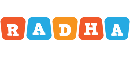 Radha comics logo