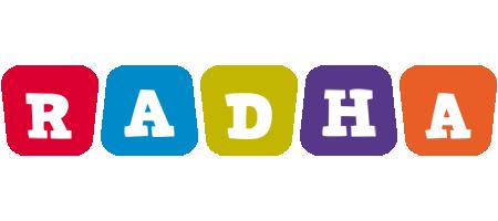 Radha daycare logo