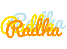 Radha energy logo