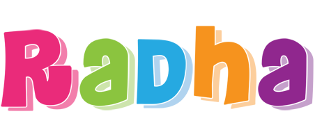 Radha friday logo