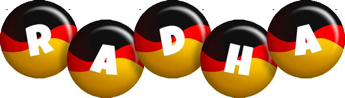 Radha german logo