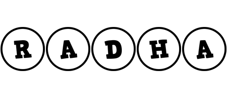 Radha handy logo