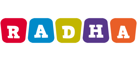 Radha kiddo logo