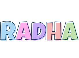 Radha pastel logo