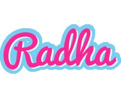 Radha popstar logo