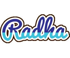 Radha raining logo