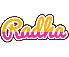 Radha smoothie logo