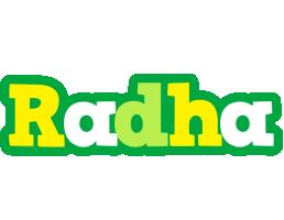 Radha soccer logo