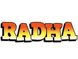 Radha sunset logo