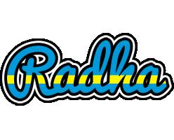 Radha sweden logo