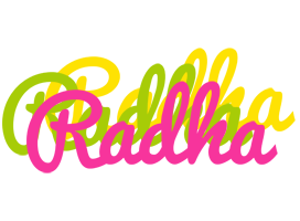 Radha sweets logo
