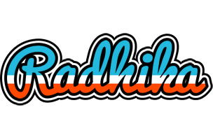 Radhika america logo