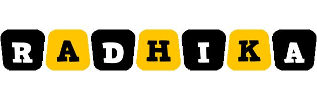 Radhika boots logo