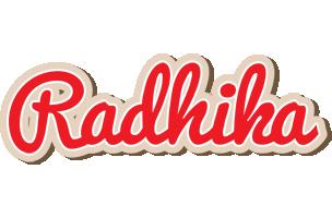 Radhika chocolate logo