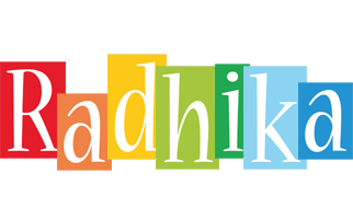 Radhika colors logo