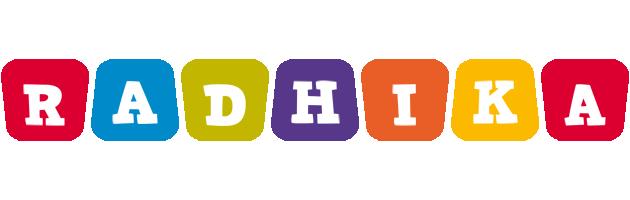 Radhika daycare logo