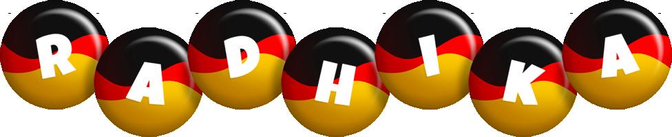 Radhika german logo