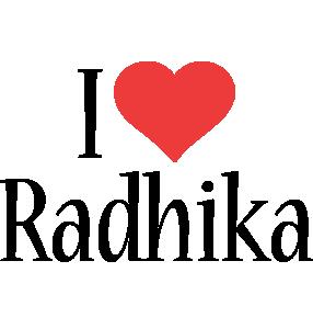Radhika i-love logo