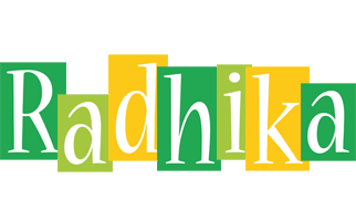 Radhika lemonade logo