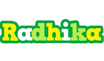 Radhika soccer logo