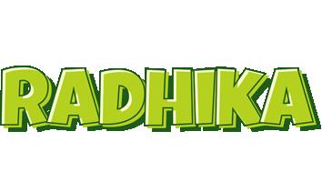 Radhika summer logo