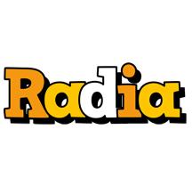 Radia cartoon logo