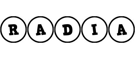 Radia handy logo