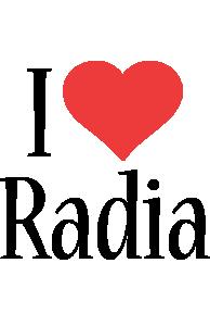 Radia i-love logo
