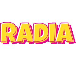 Radia kaboom logo
