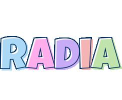 Radia pastel logo