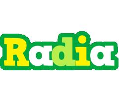 Radia soccer logo