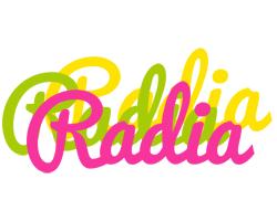 Radia sweets logo