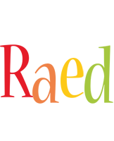 Raed birthday logo