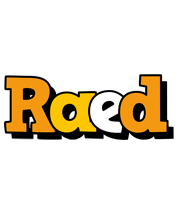 Raed cartoon logo