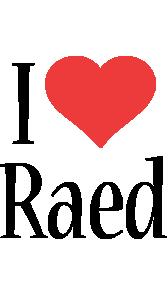 Raed i-love logo