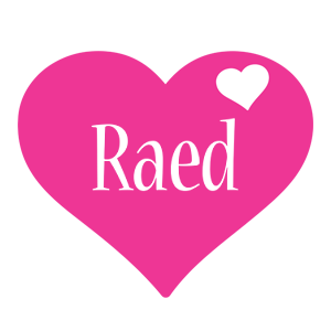 Raed love-heart logo
