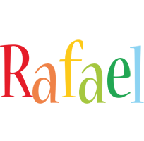 Rafael birthday logo