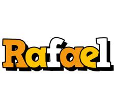 Rafael cartoon logo