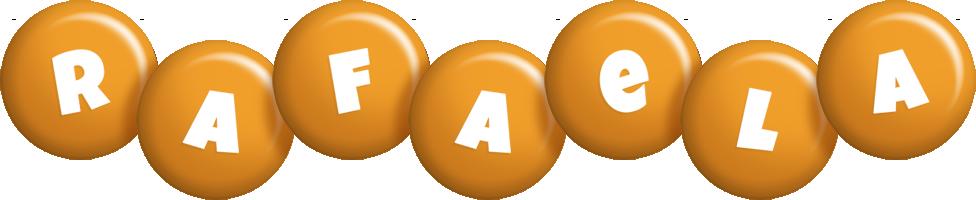 Rafaela candy-orange logo