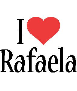 Rafaela i-love logo