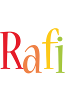 Rafi birthday logo