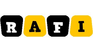 Rafi boots logo