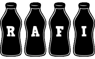 Rafi bottle logo