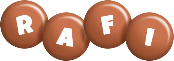 Rafi candy-brown logo