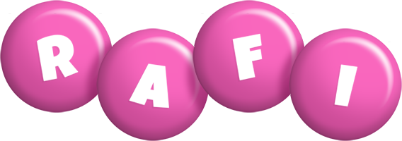 Rafi candy-pink logo