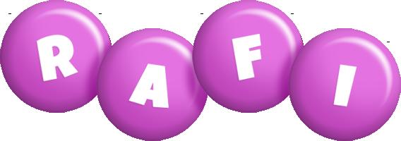 Rafi candy-purple logo