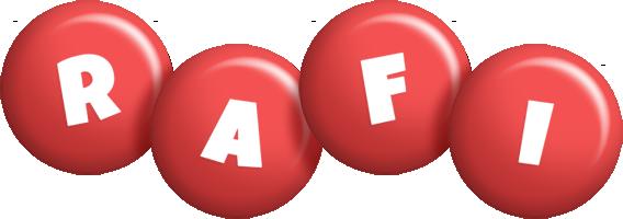 Rafi candy-red logo