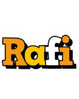 Rafi cartoon logo