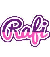 Rafi cheerful logo