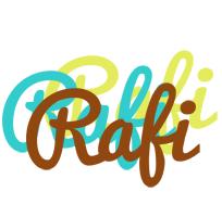 Rafi cupcake logo